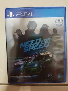 Used PS4 Game - Need For Speed