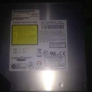 Toshiba Satellite M205 Series IDE Dvd-rom Drive Dvr-k17tbl