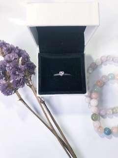 💜 Pandora One Love Amethyst Ring