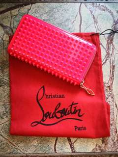 Christian Louboutin Panettone Spikes Wallet