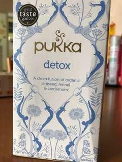 Pukka detox有機茶包20包 包郵