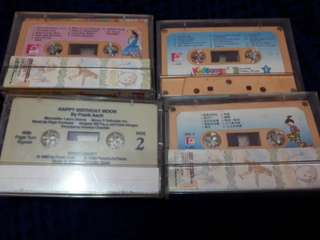 Nursery rhymes casette tapes