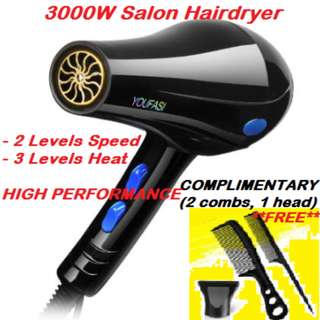 Hairdryer 3000W - Strong Wind