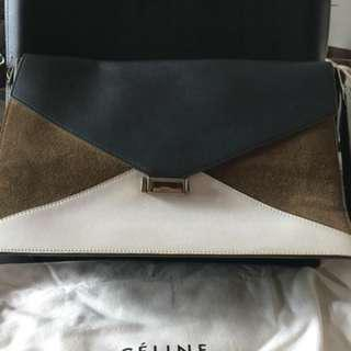 Celine Envelope Diamond Handbag