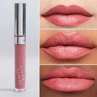 colourpop ultra satin lip in november