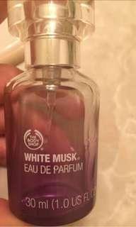 the bodyshop white musk eau de toilette