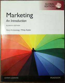 Marketing, An Introduction (11th Edition Pearson)