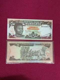 Swaziland 2 emalangeni 1990 issue