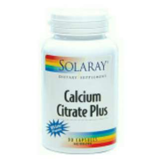 SOLARAY CALCIUM CITRATE PLUS 117'S