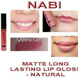 nabi lip gloss in natural