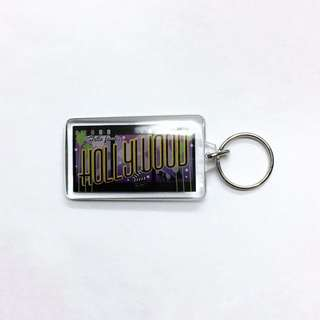 Hollywood Souvenir Keychain