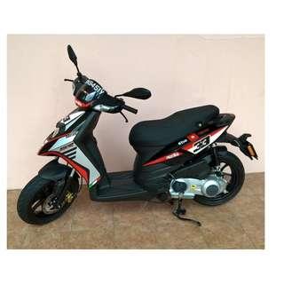 Aprilia SR MT 125 limited edition, like new, fewer than 2000 km, COE 2026