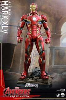 *MISB* Hot Toys QS006- Avengers: AOU 1/4th Quarter scale Mark XLV 45 Collectible Figure - Normal Edition