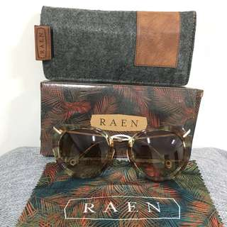 RAEN Pogue two-tone Brown Gradient sunglasses
