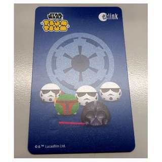 Brand New Tsum Tsum - Star Wars Characters ezlink card (Series 2)