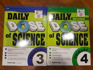NEW primary science assessment book