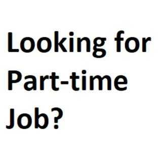 Part-timers wanted!!