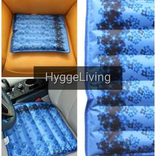 Hygge Living Water Cooling Mat Portable Reinforced Seams Refillable Brand New Wheelchair Computer Chairs Pets Kids Elderly