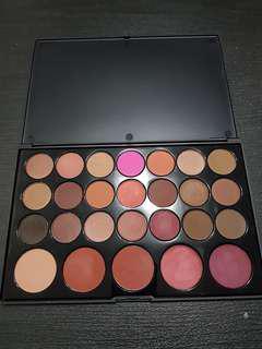 BH cosmetics blushed neutrals eyeshadow palette