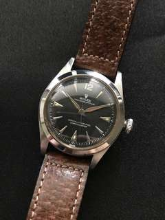 Rolex 1940s Vintage Bubbleback Oyster Perpetual