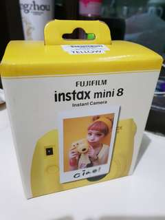 NEW CAMERA FUJIFILM INSTAX MINI 8