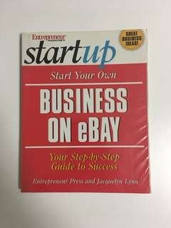 Start Your Own Business on eBay; Your Step-by-Step Guide to Success