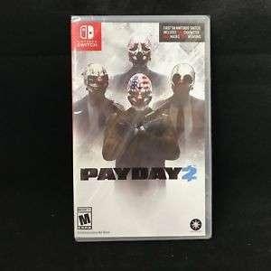 Payday nintendo switch