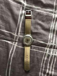 Jam Tangan Swatch Irony Diaphane Single Malt