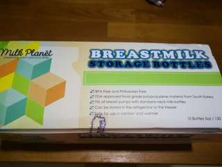Milk Planet Breastmilk storage bottle