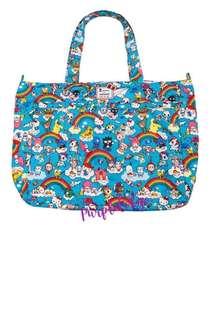 Jujube Super Be Diaper Bag (Rainbow Dreams Sanrio) *BELOW RETAIL* Last one!