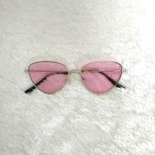 Cat eyes sunglasses pink