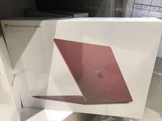 [ 全新行貨有保養 ]Surface Laptop Intel Core i5 / 256GB / 8GB RAM ( 酒紅色/墨金色 ) 限定優惠