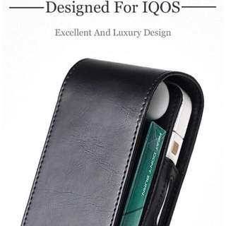 Leather carrying case for IQOS 2.4 / IQOS 2.4 plus