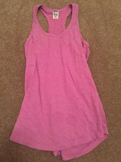 Pink Long Gym Tank Top 10 Good Preloved Condition
