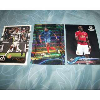 Paul Pogba Topps/Panini trading cards for sale.trade