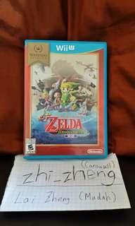 Zelda wind waker HD wii U game