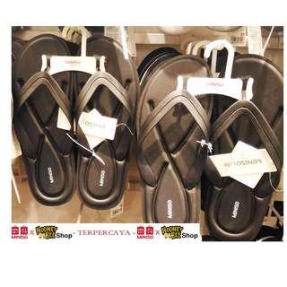 Japan Quality - Sendal Unisex Sports Style Flip Flop Miniso Import