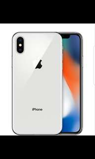 iPhone X (like and follow me first)