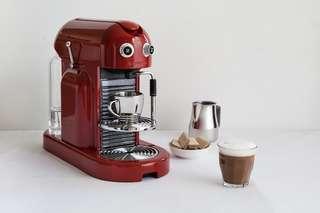 Nespresso Maestria Coffee Machine, Red