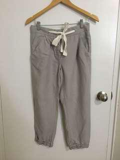 Wilfred Allant pant (linen) size 0 in Ashen