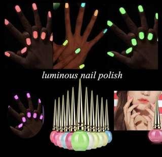 14ml Luminous Nail Polish Grow In Dark