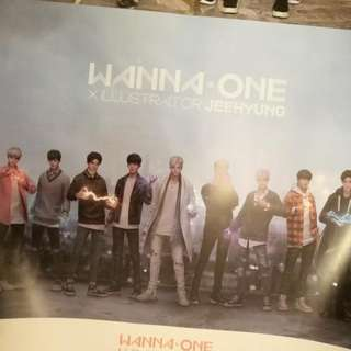 Wanna One Art Book Version Poster