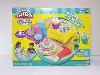 Playdoh Sweet Shoppe Sweet Bakin Creations Set