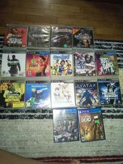 PS3 Games and ps4 games