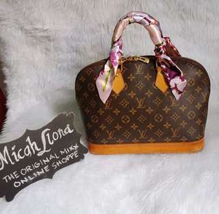 Authentic Lv Alma Datecode FL0084