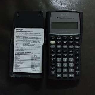 BA II PLUS Financial Calculator