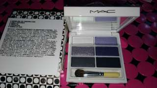 NEW AUTHENTIC MAC Snowglobe travel palette