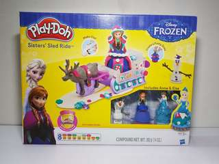 Playdoh Frozen Sisters Sled Ride Set