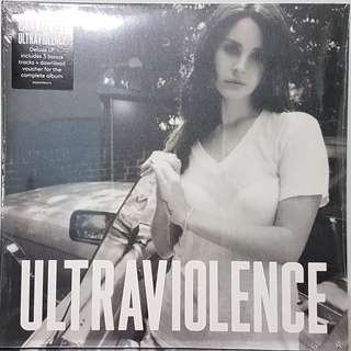Vinyl Double LP : Lana Del Rey - Ultraviolence (Deluxe Edition With 3 Bonus Tracks)