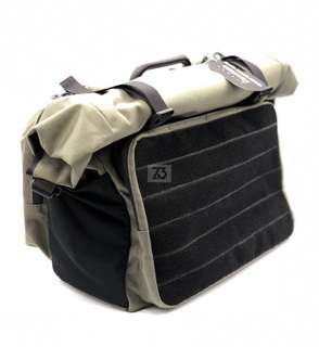 Roll Top Touring Bag Olive Green (for Brompton)